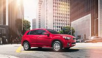2011 Mitsubishi Outlander Sport, Three quarter view. , exterior, manufacturer