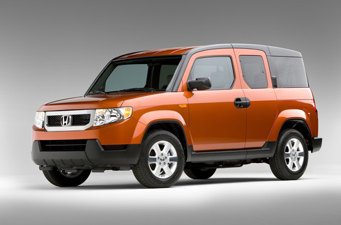 2011 Honda Element, Three Quarter View. , manufacturer, exterior