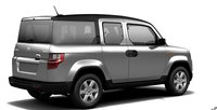 2011 Honda Element, Right back quarter view. , exterior, manufacturer