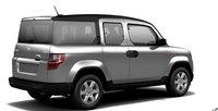 2011 Honda Element, Right back quarter view. , exterior, manufacturer