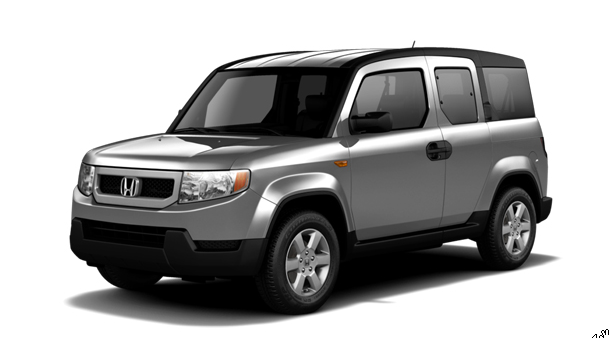 2011 Honda Element, Three quarter view. , exterior, manufacturer