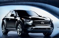 2011 Infiniti FX35, Three quarter view. , manufacturer, exterior