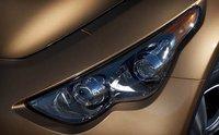 2011 Infiniti FX35, Close-up headlight. , exterior, manufacturer