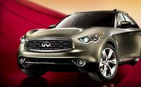 2011 INFINITI FX50, Front quarter view. , exterior, manufacturer, gallery_worthy