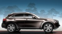 2011 INFINITI FX50, Side right view. , exterior, manufacturer