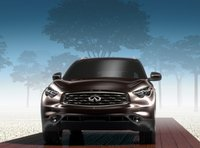 2011 INFINITI FX50, Front View. , exterior, manufacturer, gallery_worthy