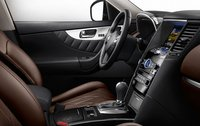 2011 INFINITI FX50, Leather interior detail. , interior, manufacturer
