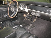 1967 Mercury Cougar, 5-speed with factory look-a-like shifter, interior