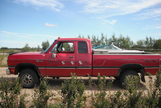 Picture of 1991 Dodge RAM 150 2 Dr LE 4WD Extended Cab LB