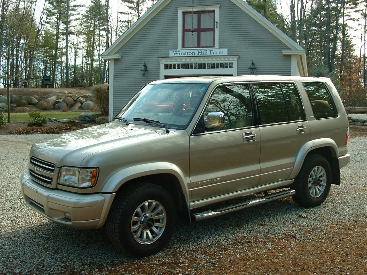 2002 Isuzu Trooper Pictures Cargurus