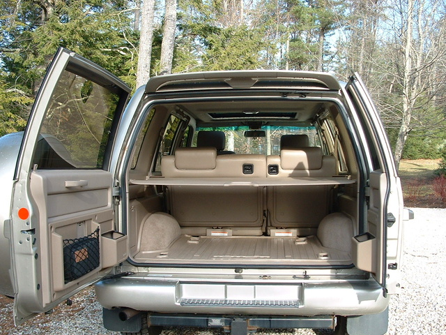 2002 isuzu trooper - interior pictures - cargurus