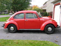 1974 Volkswagen Super Beetle, Basic Super Bug, exterior