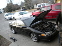 1994 Mitsubishi Eclipse GS Turbo picture, exterior, engine