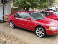 1997 Honda Accord Special Edition Coupe, 1997 Honda Accord 2 Dr Special Edition Coupe picture, exterior