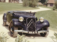1934 Citroen Traction Avant Overview
