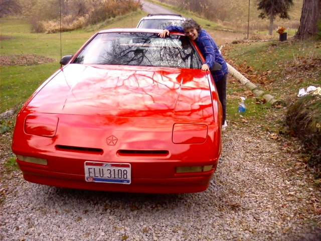 "1990 Dodge Daytona 2 Dr ES Hatchback, Meet ""Daisy Daytona."" I've had her 12 yrs. and love this car. She just had a new paint job and some interior work done. Runs like a drea..."