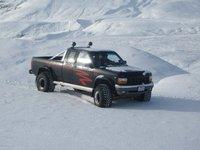 1991 Dodge Dakota 2 Dr Sport 4WD Extended Cab SB, pikkinn minn á nýju túttunum
