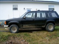 1991 Ford Explorer 4 Dr Eddie Bauer 4WD SUV, After new radsupport was done, went for a test run.