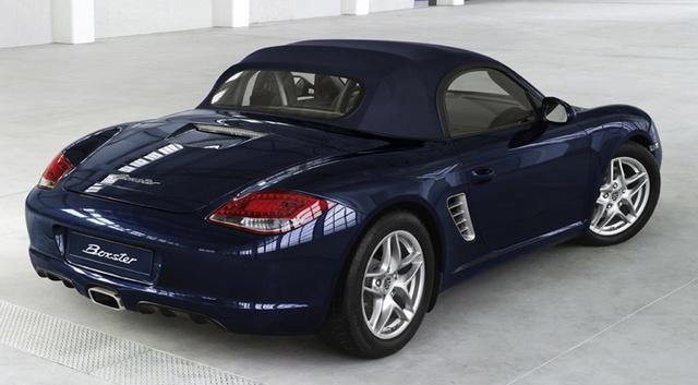 2011 Porsche Boxster, Rear quarter view. , exterior, manufacturer