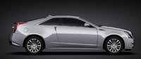 2011 Cadillac CTS Coupe, Side left view. , exterior, manufacturer