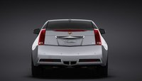 2011 Cadillac CTS Coupe, Rear View. , exterior, manufacturer