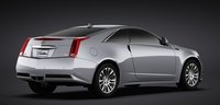 2011 Cadillac CTS Coupe, Back quarter view. , exterior, manufacturer