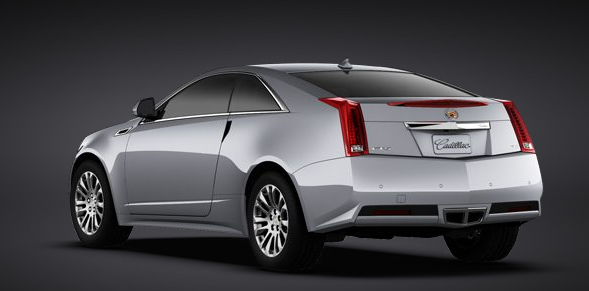 2011 Cadillac CTS Coupe, Back quarter left view. , exterior, manufacturer