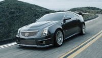 2011 Cadillac CTS-V Coupe, Front quarter view. , exterior, manufacturer