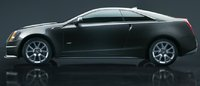 2011 Cadillac CTS-V Coupe, Side View. , exterior, manufacturer