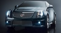 2011 Cadillac CTS-V Coupe, Front View. , exterior, manufacturer