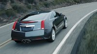 2011 Cadillac CTS-V Coupe, Back quarter view. , exterior, manufacturer