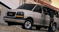 2011 GMC Savana, Three quarter view. , exterior, manufacturer