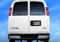 2011 GMC Savana, Rear view. , manufacturer, exterior