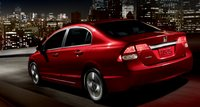 2011 Honda Civic, Back quarter view. , exterior, manufacturer