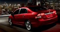 2011 Honda Civic, Back quarter view. , exterior, manufacturer