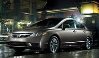 2011 Honda Civic, Three quarter view. , exterior, manufacturer