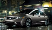 2011 Honda Civic, Three quarter view. , manufacturer, exterior