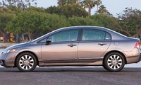 2011 Honda Civic, Side View., manufacturer, exterior, interior