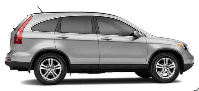 2011 Honda CR-V, Side View. , exterior, manufacturer