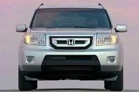 2011 Honda Pilot, Front View. , exterior, manufacturer