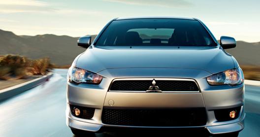 2011 Mitsubishi Lancer, Front View. , exterior, manufacturer