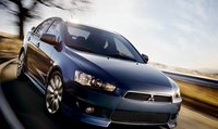 2011 Mitsubishi Lancer, Three quarter view. , manufacturer, exterior