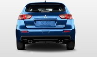 2011 Mitsubishi Lancer Sportback, Back View. , exterior, manufacturer