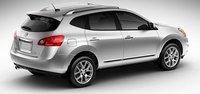 2011 Nissan Rogue, Three quarter view. , exterior, manufacturer