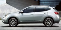 2011 Nissan Rogue, Left side view. , exterior, manufacturer