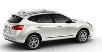 2011 Nissan Rogue, Three quarter back view. , exterior, manufacturer