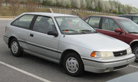 1990 Hyundai Excel 2 Dr STD Hatchback, Mine wasn't in as good condition... but it got me where I wanted to go, exterior