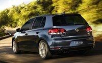 2011 Volkswagen Golf, Back three quarter view. , exterior, manufacturer