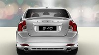 2011 Volvo S40, Back View. , exterior, manufacturer