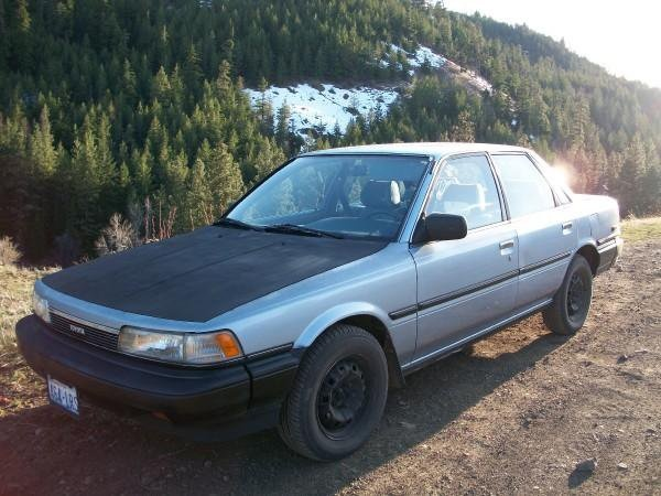 1987 Toyota Camry GLi EXECUTIVE FSH 75k miles only For ...  |1987 Toyota Camry Interior